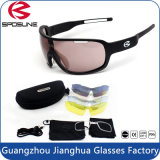 Factory Wholesale Multi-Function Big Frame Outdoor Sporting Sunglasses for Running