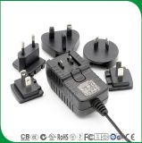 Wall Plug 12V 2A EU Us UK Au Switching Power Adapter