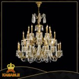 Luxury Big Crystal Pyramid Chandelier Light (MD0743-16)