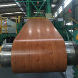 Aluminium Sheet with Wood Grain Painted Finished for Building Material
