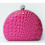 Cheap Wholesale Korea Crystal Evening Bag, Mini Custom Clutch Bag, Beautiful Trendy Party Bag for Lady