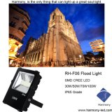 CREE 100W Finned Style IP65 Outdoor LED Flood Light