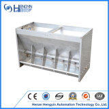 Double Side Stainless Steel Pig Feeder