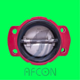 DIN or ANSI Dual Plate Check Valve