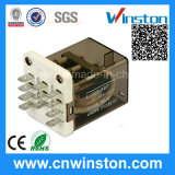 Industrial Power Socket Mounted Electromagnetic Relay with CE