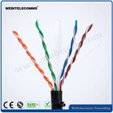 U/UTP Unshielded Network Cable Cat 6 Twisted Pair Outdoor Cable