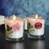 Candle Cup Home Decoration Colorful Glass Candle Holders