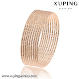 51462 Fashion Simple Rose Gold-Plated Jewelry Bangle in Metal Alloy