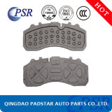 Cast Iron 9mm Truck Brake Pad Backing Plate for Mercedes-Benz