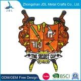 Bulk Factory Engraving Fabric Price Metal Lapel Pin/Badge for Recreational Activities (397)