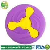 New Creative Pet Toy Pet Frisbee Throwing Training Resistance to Fall Bite Silicone Dog Flying Saucer