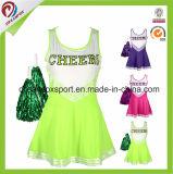 Cheerleading Sportswear Sublimated Custom Girls Cheerleading Uniforms Wholesale