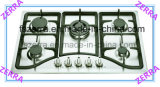 5 Burner Built in Gas Hob Use for Cast Iron Pan Support Kitchen (JZS75003)