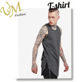Fashion Long Line Tshirt Cotton Polyester Vest From Clothes Supplier