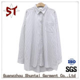 Wholesale Ladies Stripes Shirts Polo Collar