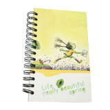 PVC Spiral Notebook Printing Students Stationery Exercise Book