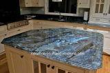 Prefab Black/Grey/White/Blue Granite/Quartz/Marble Kitchen Countertop/Stone Tops for Hotel Projects