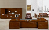 L Shape Modern Wooden Furniture Executive Office Desk (BL-B3663)
