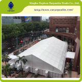 White Vinyl Coated Nylon Exhibition Tent Tarpaulin