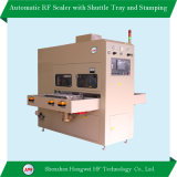 Automatic High Frequency Welding Machine with Shuttle Tray for Embossing Floor Mat