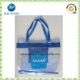 Wholesales Custom Size Clear PVC Handbag (jp-plastic056)