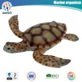 Plastic Sea Turtle Toy Filled with Cotton for Kids Education
