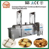 Conveyor Deep Frye Continous Belt Conveyor Tofu Frying Machine