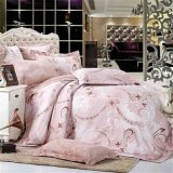 The Jacquard Not Fade Polyester Bedding Sets 5PCS/4PCS as Your Request