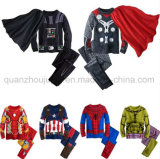 OEM Kids Chlidren Long Sleeves Cartoon Nightgown Sleepwear Pajamas