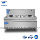 Hot Selling Induction Stove with Double Burner and Steaming Tank