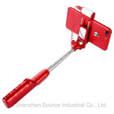 Original Factory Bluetooth Selfie Stick with LED Flash Light (RK-04)