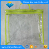 Custom Packaging Clear PVC Zipper Bag with Handle