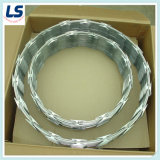 200g Zinc Coated Razor Wire for Security Fencing