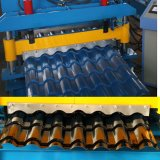 Galvanized Aluminum Roof Sheet Glazed Tile Roll Forming Machine