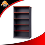 Library Open Steel Book Cabinet with 4 Shelves