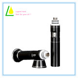 Mini Glass Pipe Atomizer 18650 Mod Wax Vaporizer for Dry Herb