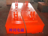Electric Lifting Magnet for Handling Steel Plates