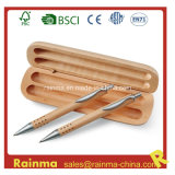 High Qualiy Wooden Twin Pen Set for Gift