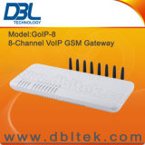 8-Port VoIP GSM Gateway/H. 323&SIP/Unlimited Global Call GoIP8