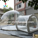High Quality Outdoor Inflatable PVC Tarpaulin Transparent Camping Bubble Bathroom Tent with Blower for Sales