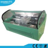 Air Cooling Ice Cream Display Stand with Low Price