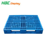 Heavy Duty Double Sides 4-Way Plastic Pallet for Repeated Use