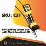 21V Cordless Power Hand Tool Grease Gun with Multi-Function LCD