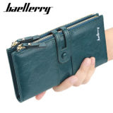 2021 OEM Ladies Wallets Fashion Long Leather Top Quality Card Holder Classic Female Purse Zipper Brand Wallet for Women