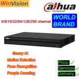 Wholesale 4 8 16 32 64 128 Channel Mobile DVR 4CH 8CH 16CH 32CH 64CH Face Recogition 4K CCTV Dahua Poe NVR