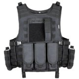 Double Safe Bullet Proof Vest Nij Iiia Level Black Army Military Tactical Vest