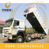 Fairly Used Sinotruk 371HP HOWO Dump Truck 8X4 Tipper with Excellent Condition for Africa