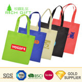 Cheap Custom Promotion Simple Laminated Recycled Plastic Polypropylene Foldable Eco-Friendly Recyclable Garment Carrier Grocery Tote Non-Woven Shopping Bag