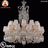 24 Light Baccarat Crystal Chandelier for Hotel Project Interior Decoration