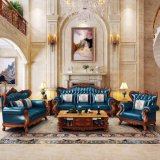 Living Room Furniture with Leather Sofa and Leisure Table (901)